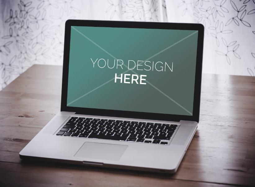 FREE Mock-ups psd macbook pro