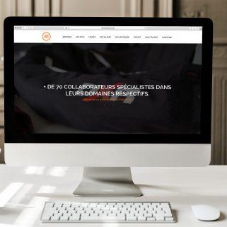 Site D3T Distribution par Antoine POHU - Graphiste Webdesigner Lille